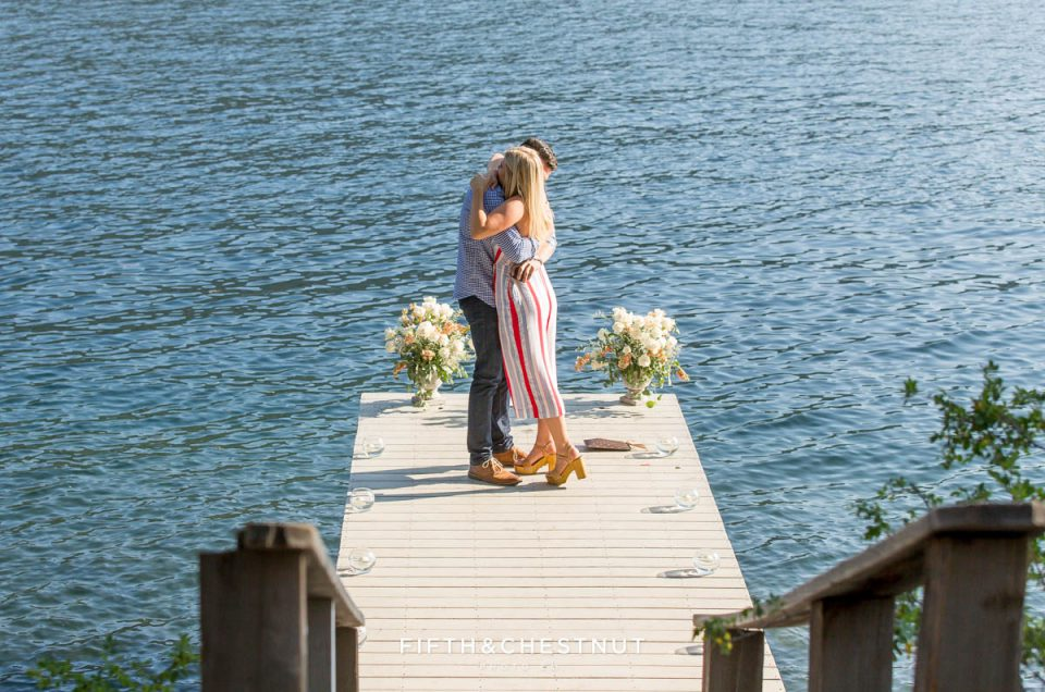 Romantic Donner Lake Proposal of Marcus & Frankie | Tahoe Photographer
