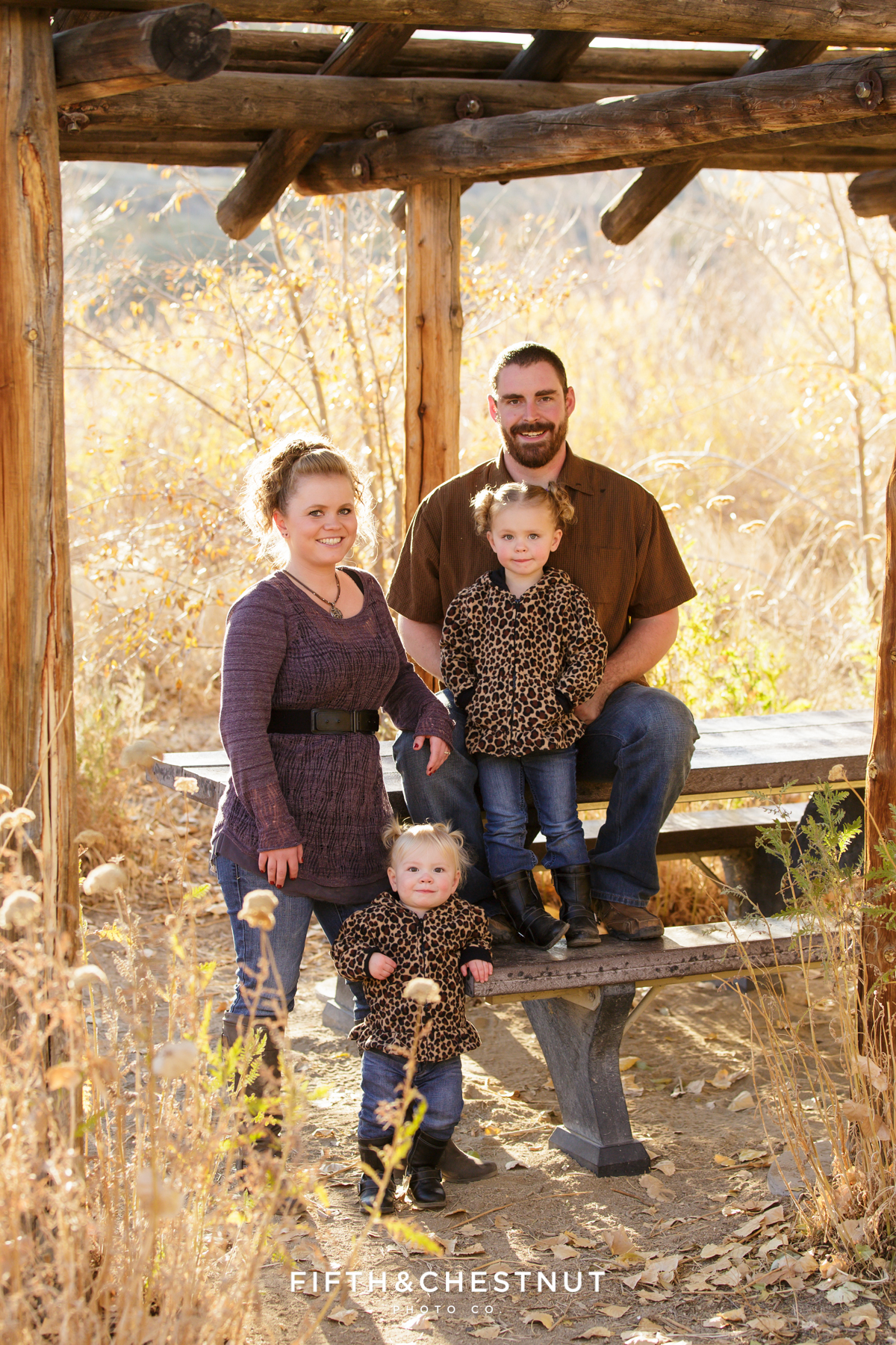 Mayberry Park Portraits in the fall by Reno Family Photographer