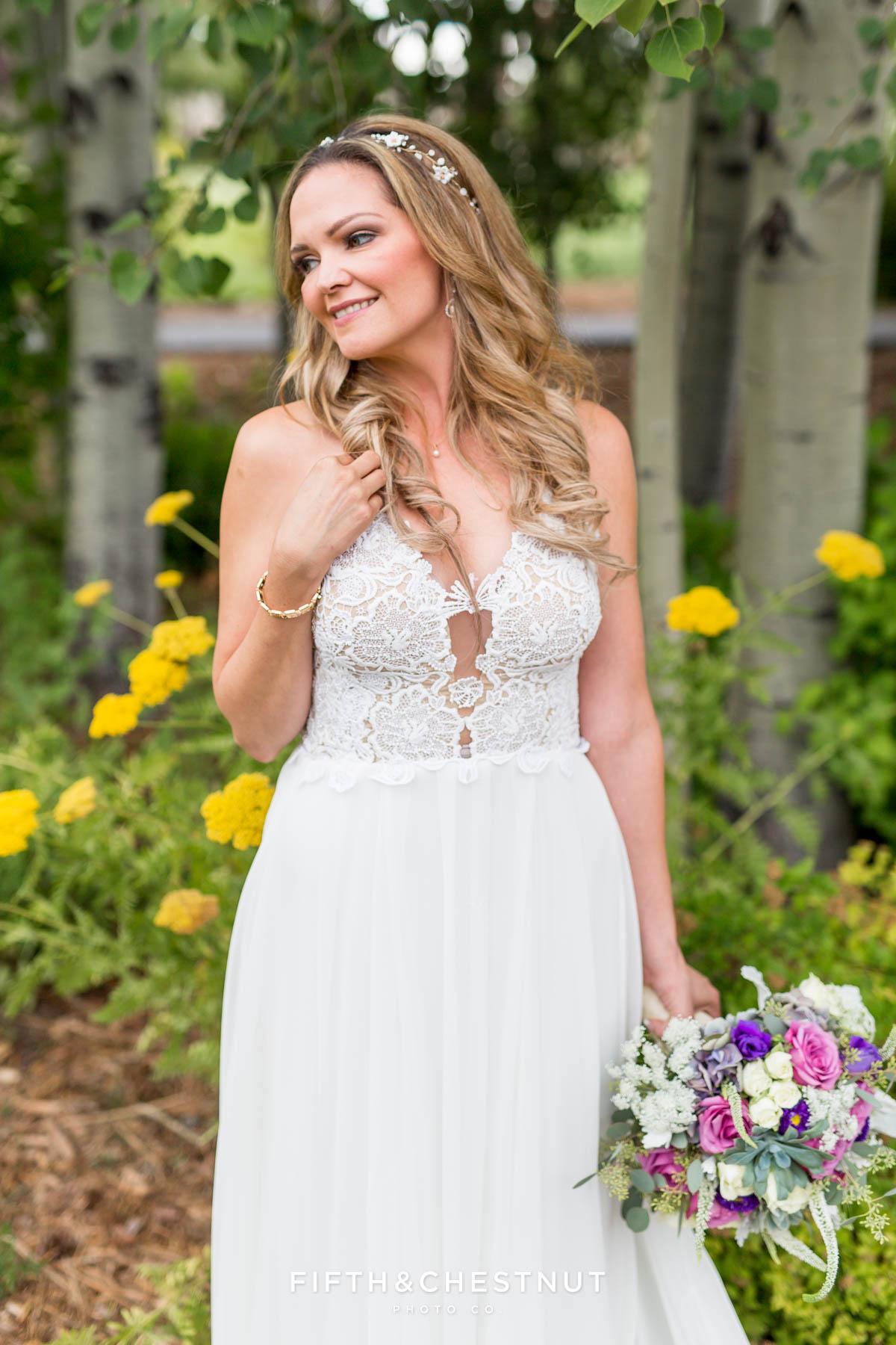 Romantic Summer Edgewood Wedding by Lake Tahoe Wedding Photographer