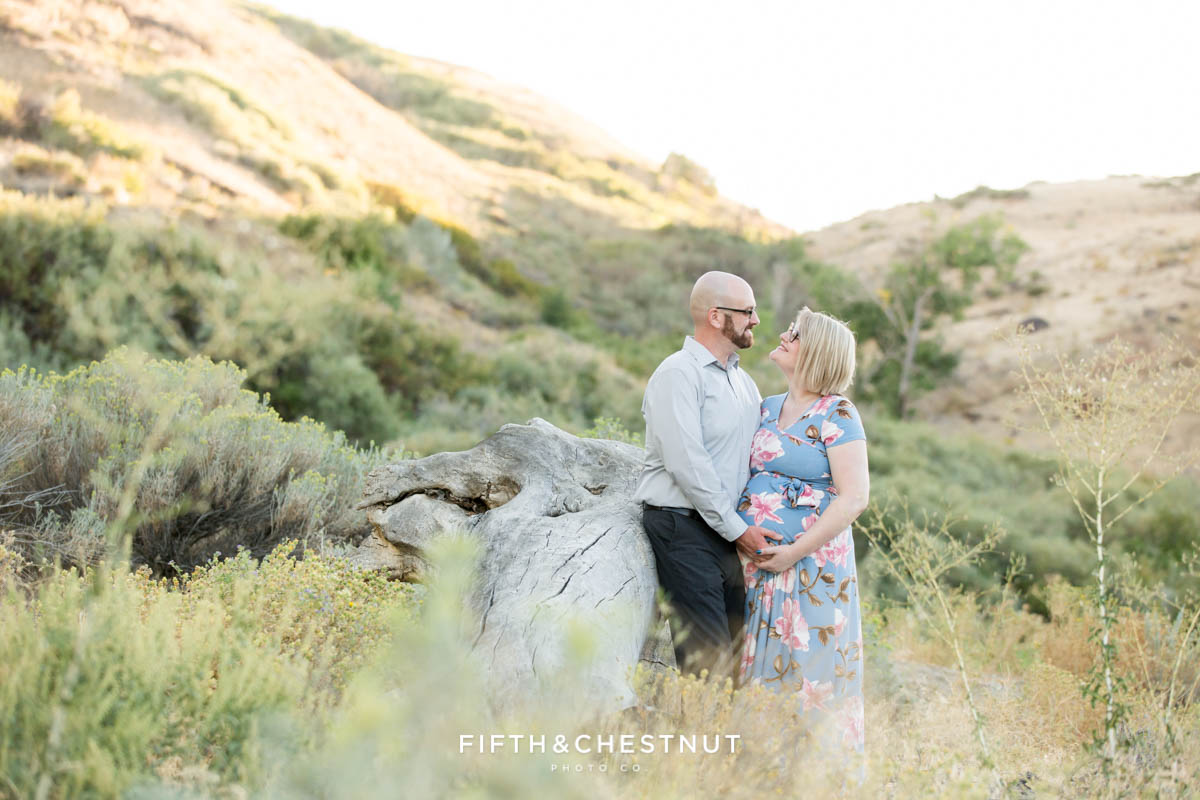 September Maternity Photos at Mayberry Park by Reno Maternity Photographer