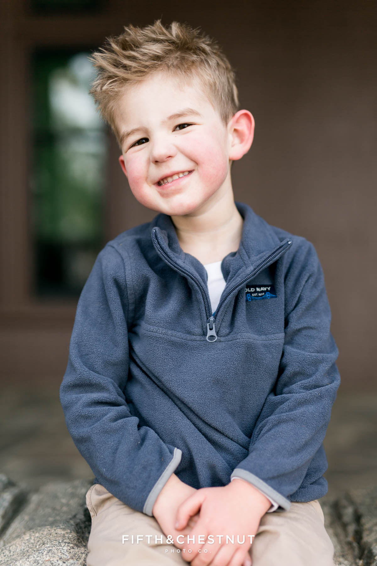 Fall four year old portraits by Reno Child Portrait Photographer in Lake Tahoe