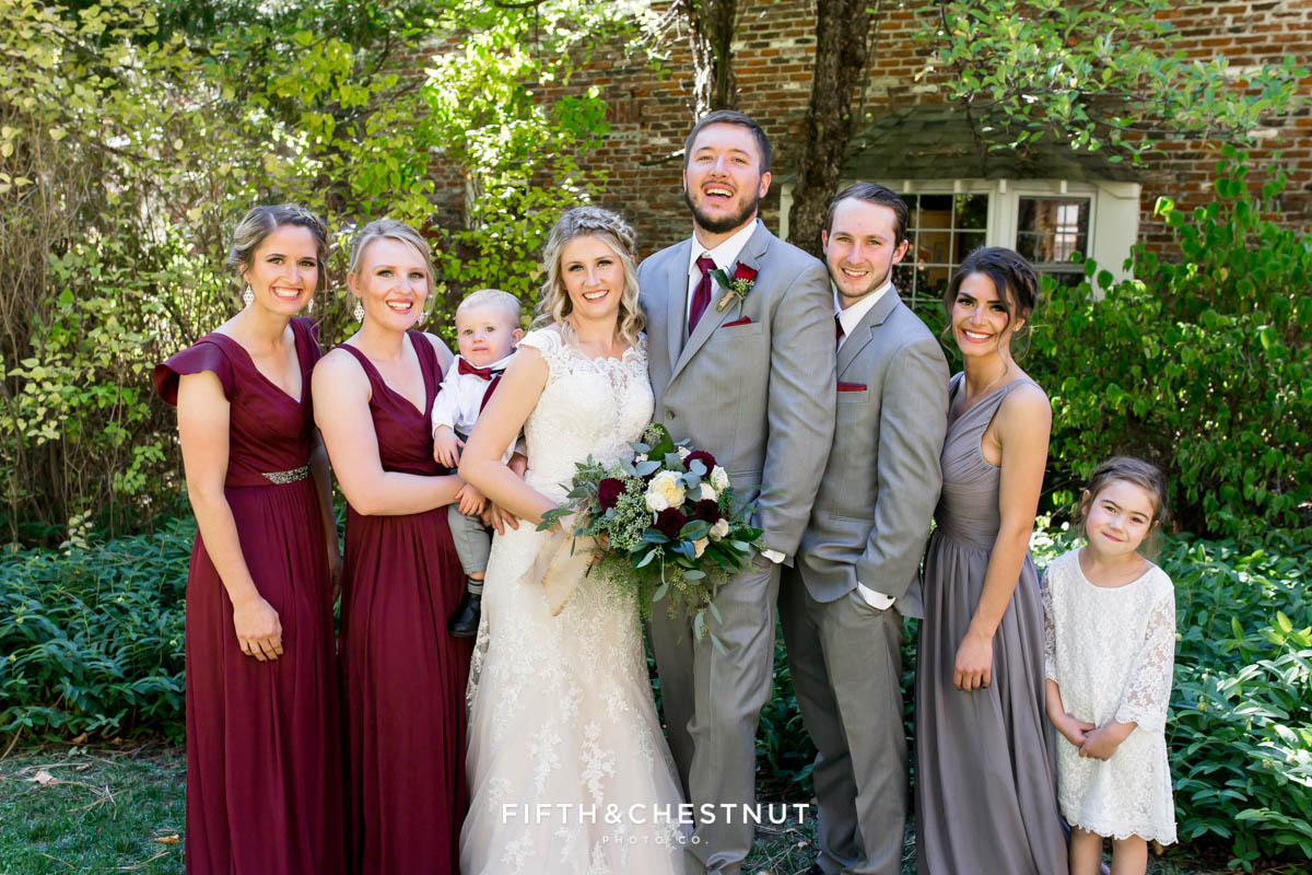 Romantic Gorgeous Fall Twenty Mile House Wedding Photos by Tahoe Wedding Photographer