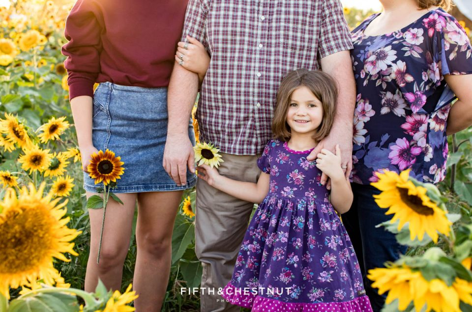 Sunflower Family Photos at Ferrari Farms | Obritsch Family